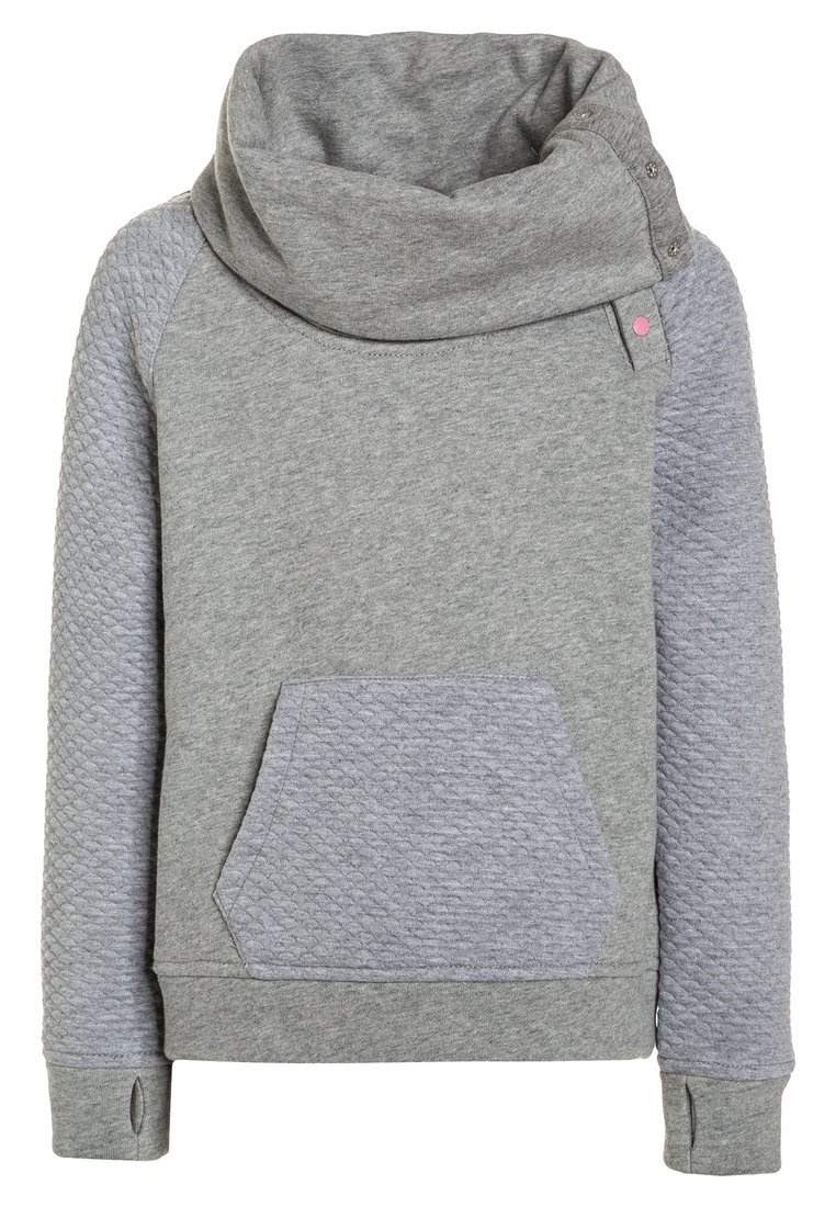 Bench 3D FUNNEL Bluza winter grey marl - BKGE000991