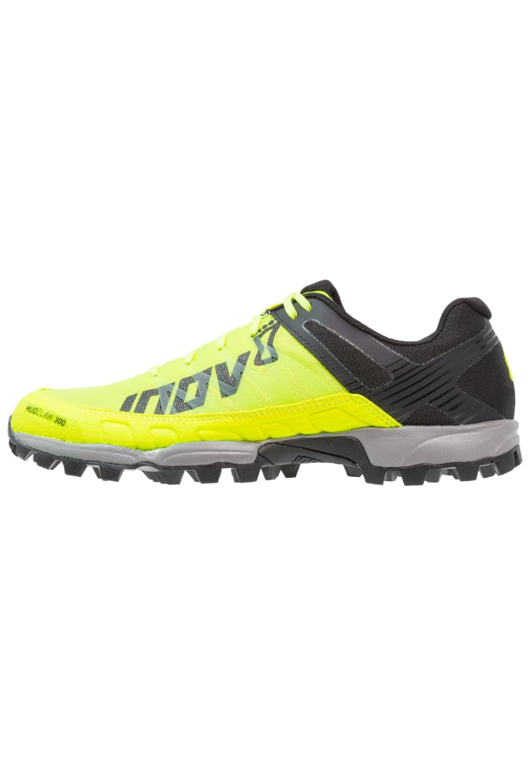 Inov8 MUDCLAW 300 Buty do biegania Szlak neon yellow/black/grey - 000056