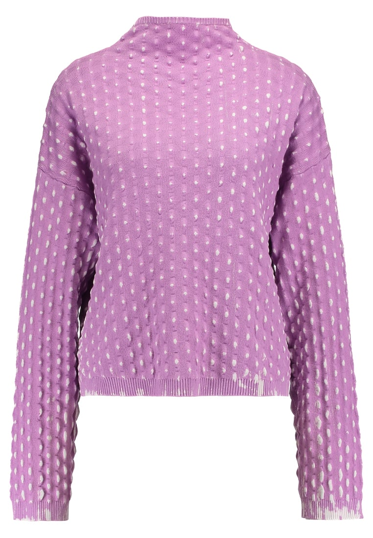 Weekday CHROME KNIT SWEATER LIMITED EDITION Sweter purple