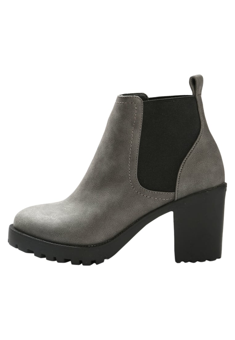 Office ACTIVE Ankle boot grey nubuck - ACTIVE W-28608