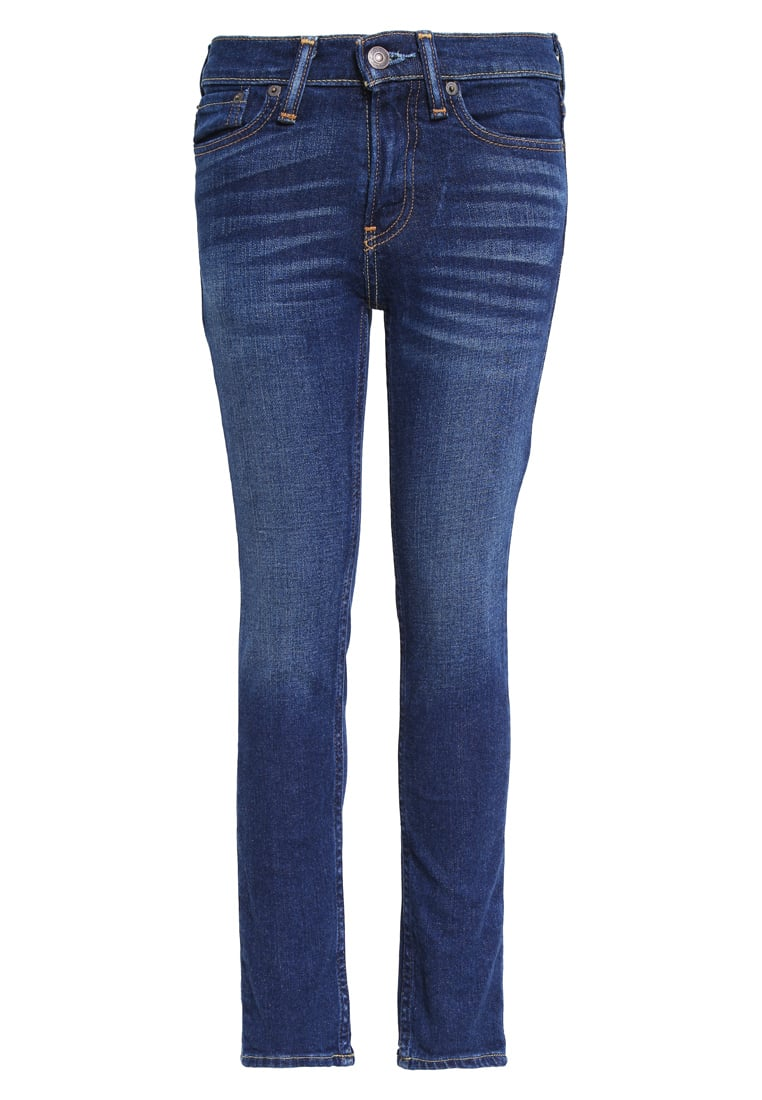 Abercrombie & Fitch Jeansy Slim fit dark/process - KI231-6100