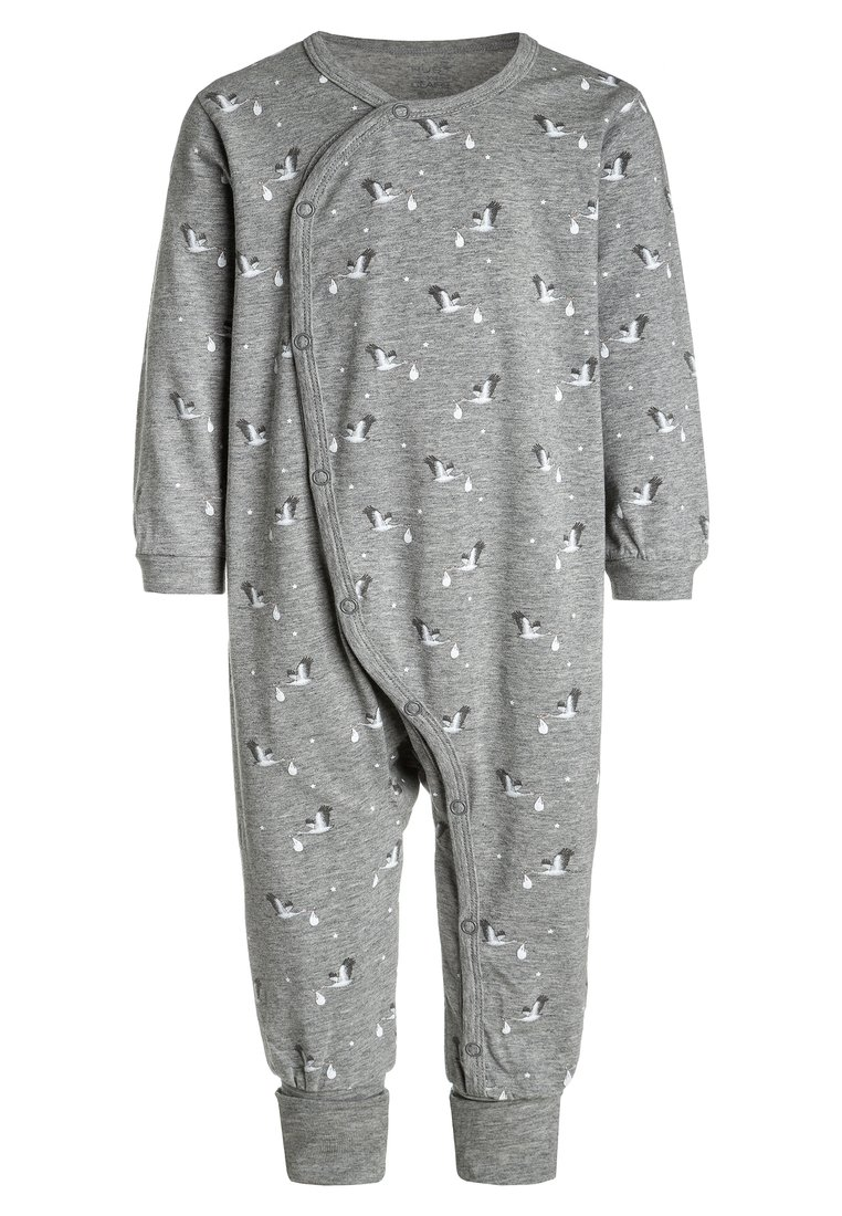 Hust & Claire NIGHTSUIT BABY Piżama light grey - 34839624
