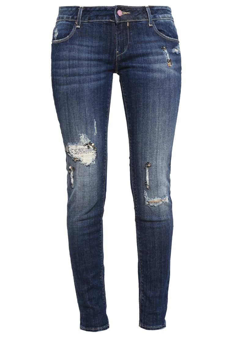 Fracomina Jeansy Slim fit warm stone - FR16FPJBEYONCE15