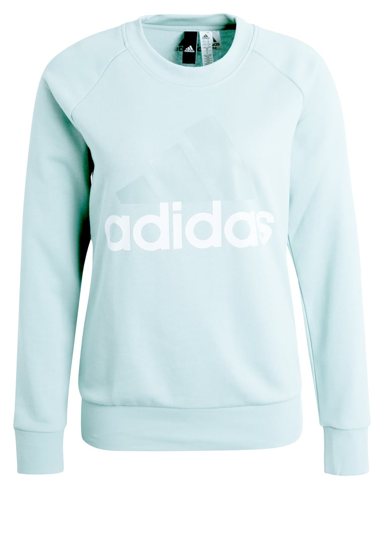 adidas Performance ESSENTIALS LINEAR Bluza tactile green - BX374