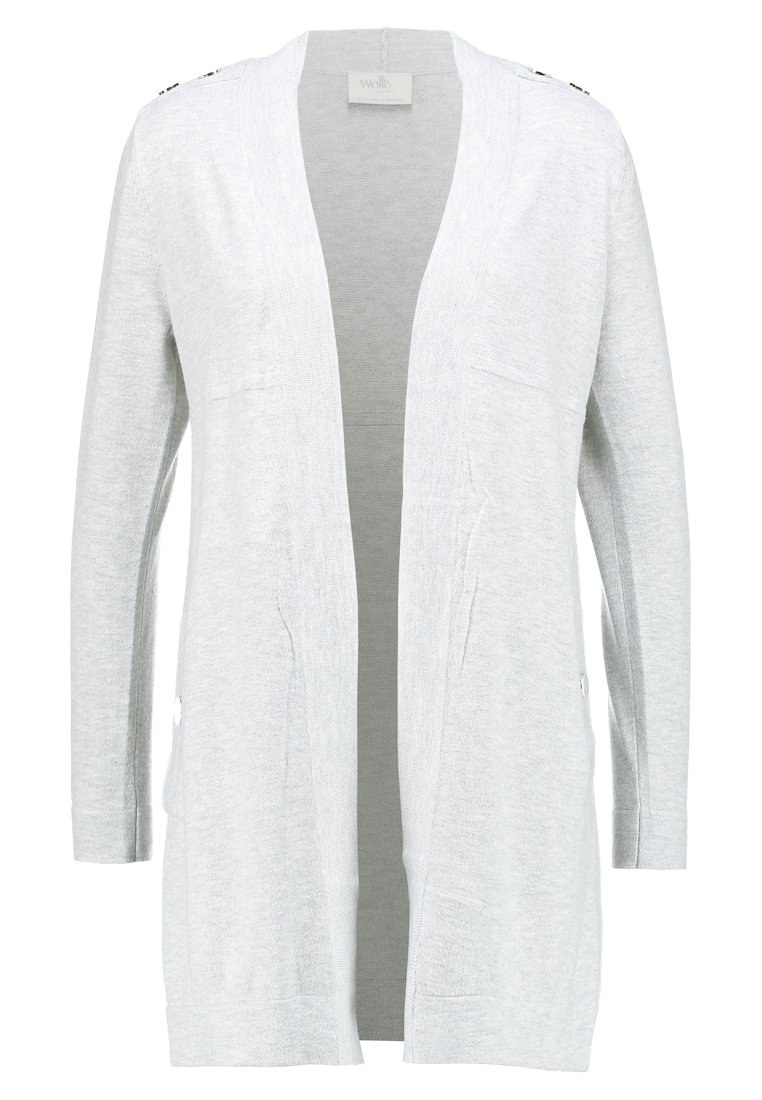Wallis Petite POPPER CARDI Kardigan grey