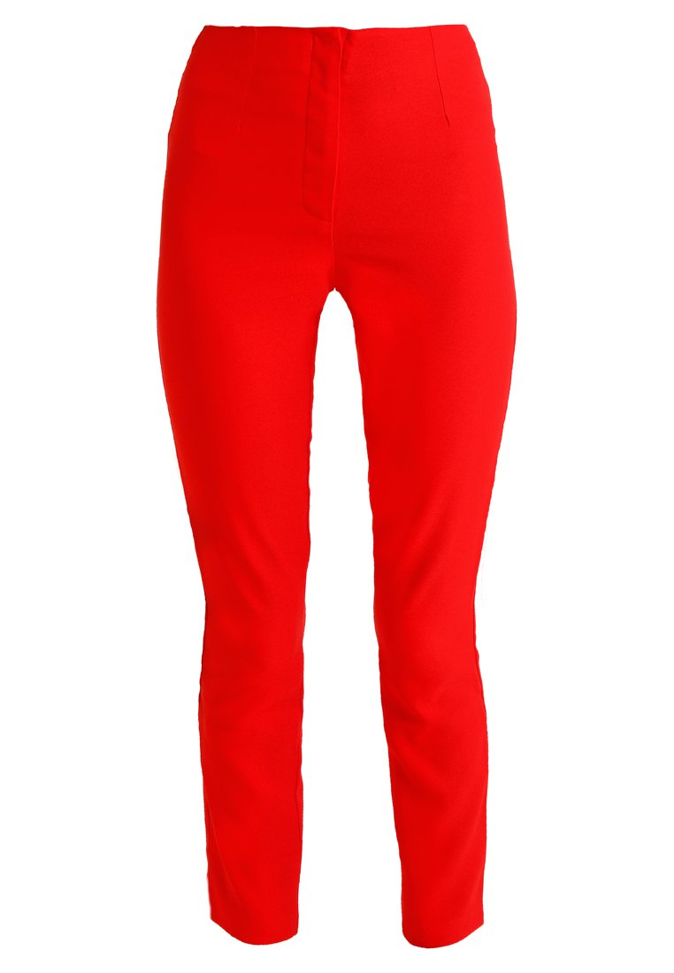 Missguided Tall CIGARETTE TROUSERS Spodnie materiałowe red - WXY9202472