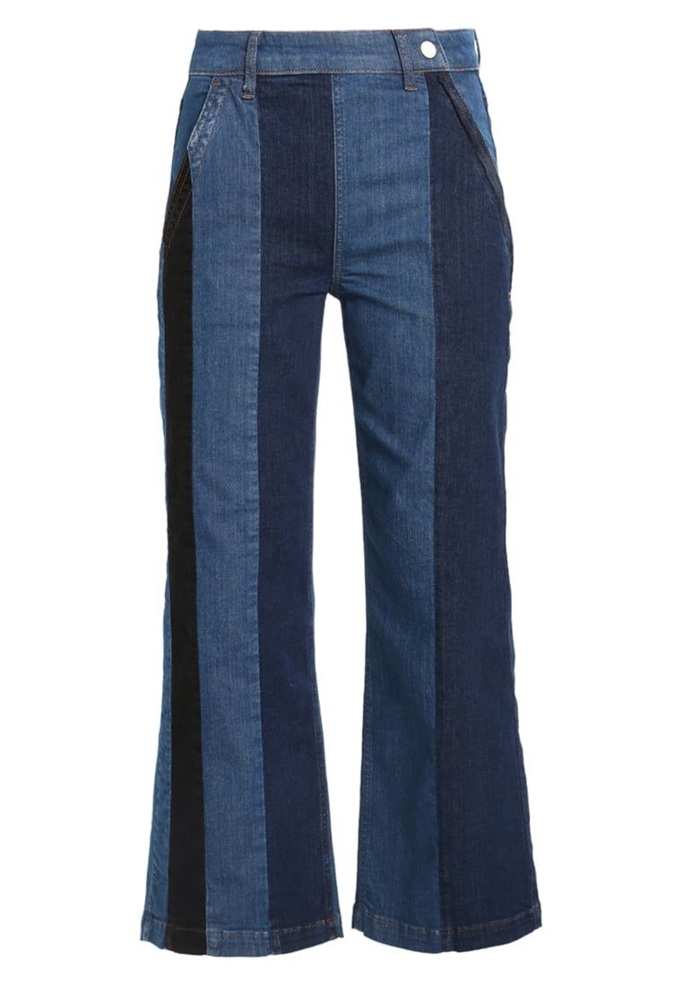 2nd Day FLIP STRIPE Jeansy Bootcut bright blue - 2175724305
