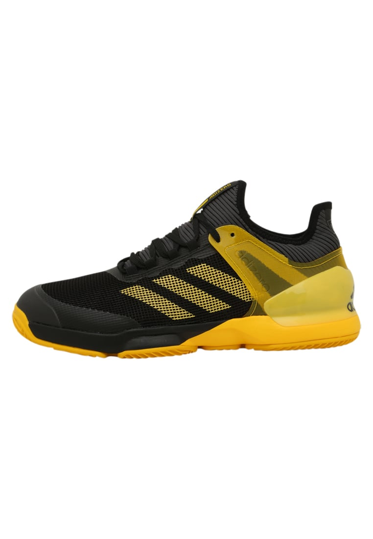 adidas Performance ADIZERO UBERSONIC 2 CLAY Buty do tenisa Outdoor black - DWI28