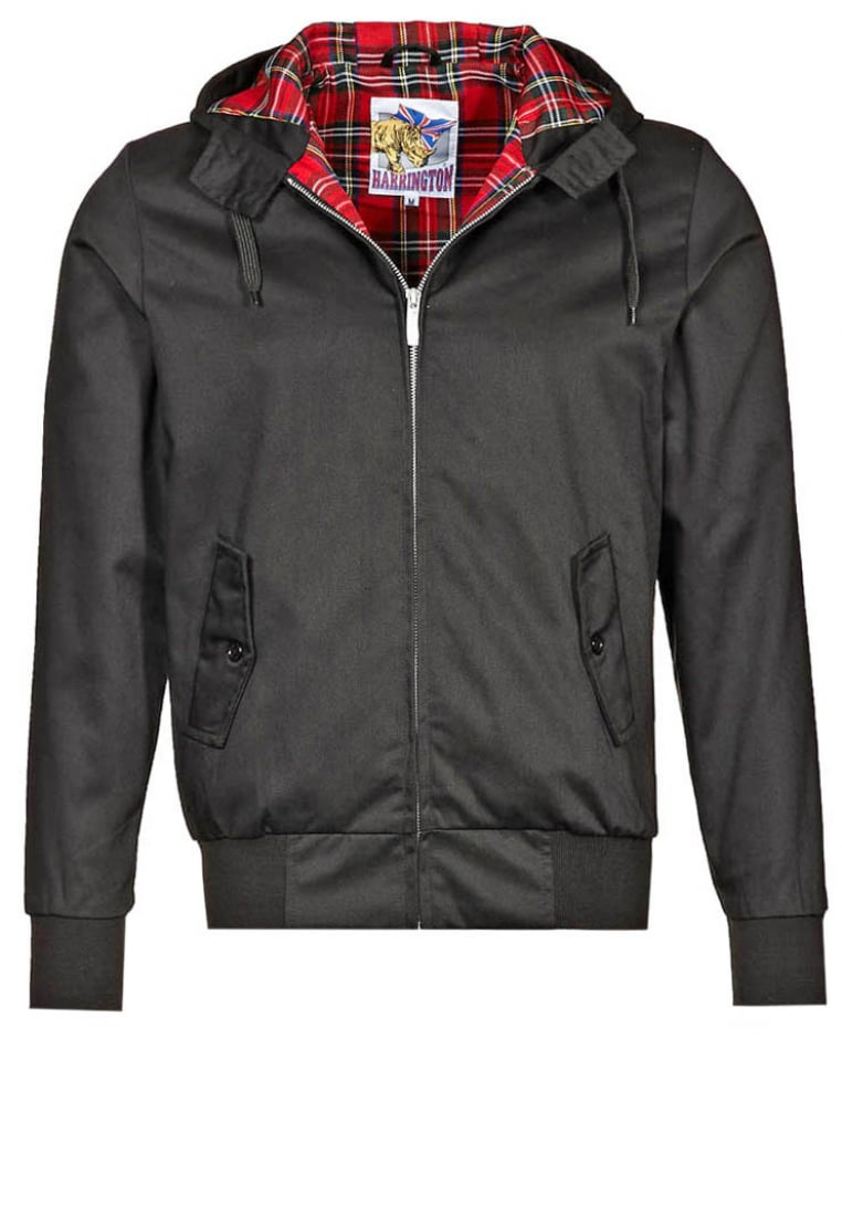 HARRINGTON Kurtka wiosenna black - HARRINGTONHOODED