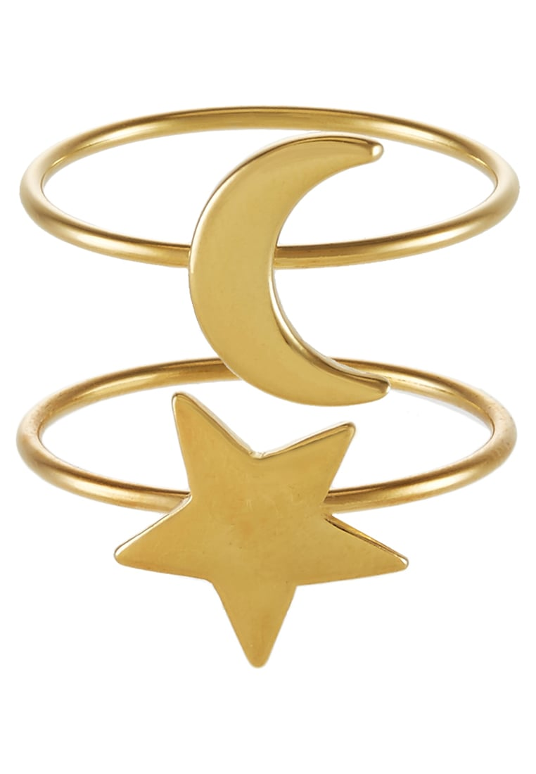 Ivyrevel 2 PACK LUNA Pierścionek goldcoloured - LUNA 2-PACK RINGS