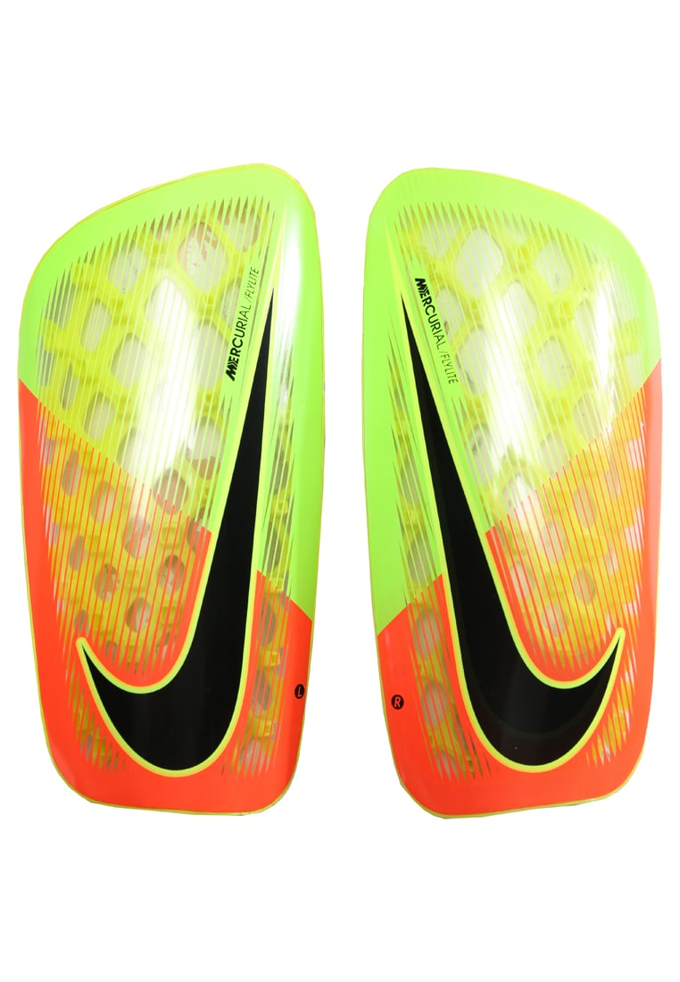 Nike Performance MERCURIAL FLYLITE Nagolenniki electric green/hyper orange/black - SP2085