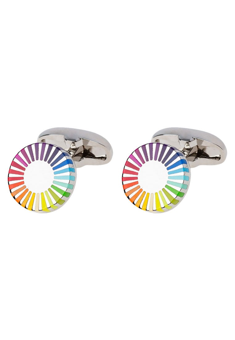 Paul Smith ROY Spinka do mankietów multicoloured - ARXC CUFF DEDGE