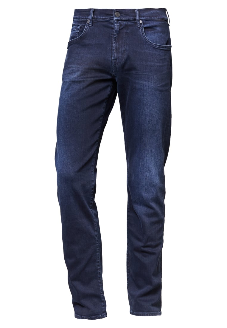7 for all mankind LUXE PERFORMANCE Jeansy Slim fit blue black - SMSR460BN