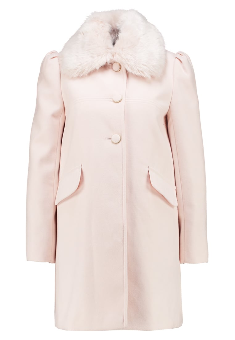 Miss Selfridge TRIM DOLLY Krótki płaszcz blush