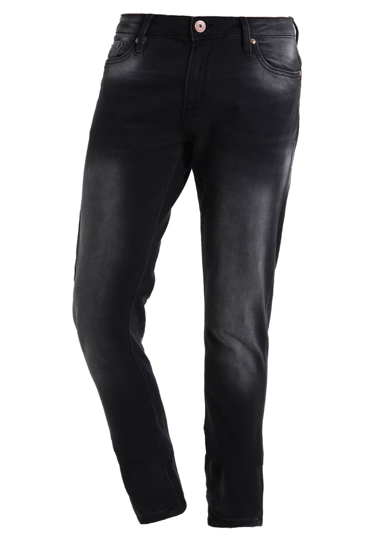 Cars Jeans ANCONA Jeansy Slim fit black used - 7267841