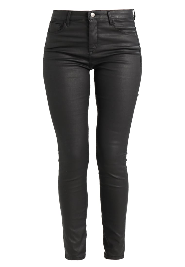 someday. CADOU COATED Jeansy Slim Fit black - 605976016