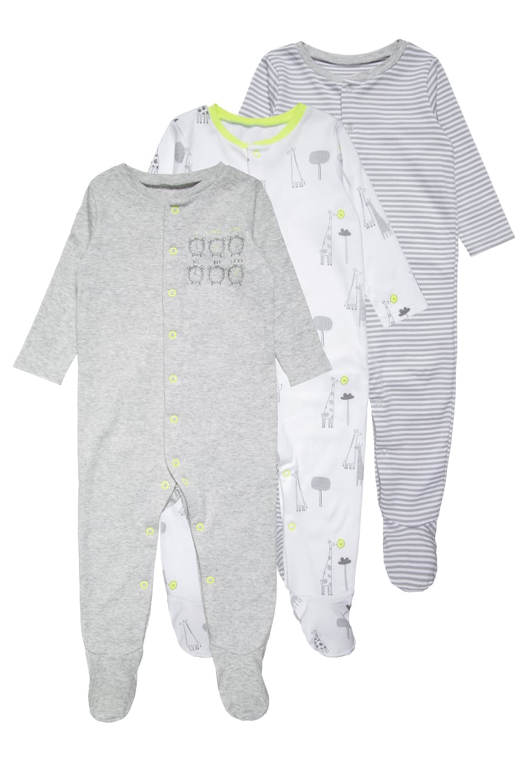 mothercare 3 PACK Piżama pastels multicolor - LC712