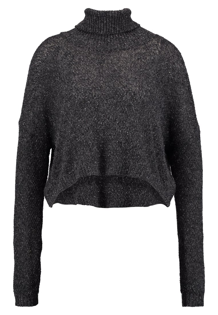 Friday's Project ROUND NECK ECOCHIC Sweter washed black - 14062