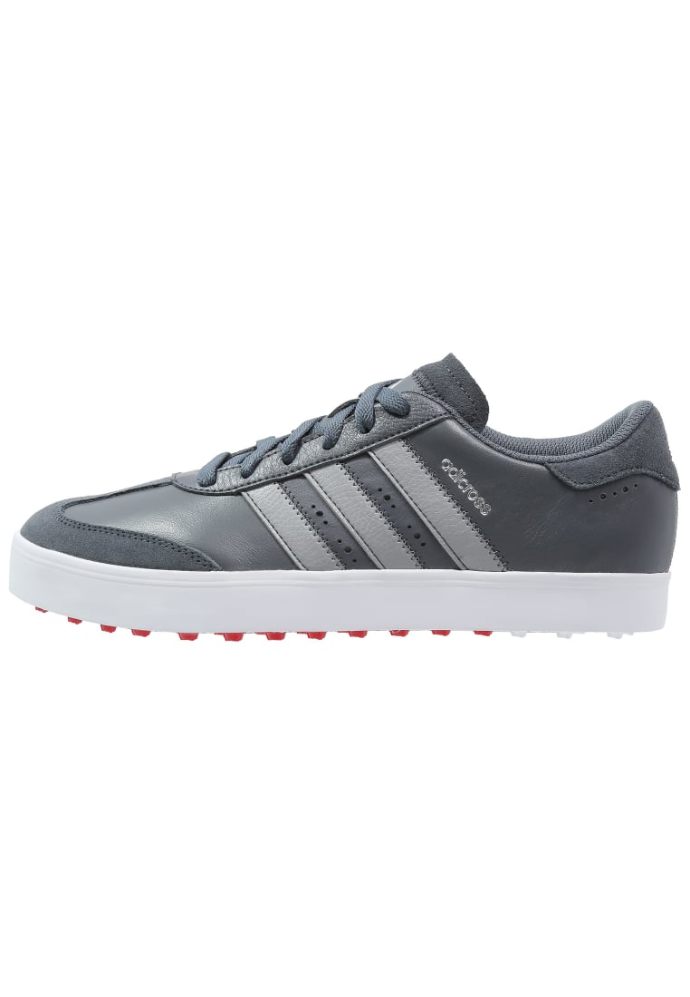 adidas Performance ADICROSS V Buty do golfa onyx/light onyx/white - F33394