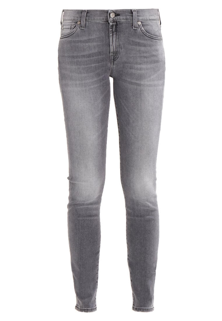 7 for all mankind Jeansy Slim fit washed grey - SWTL850HA