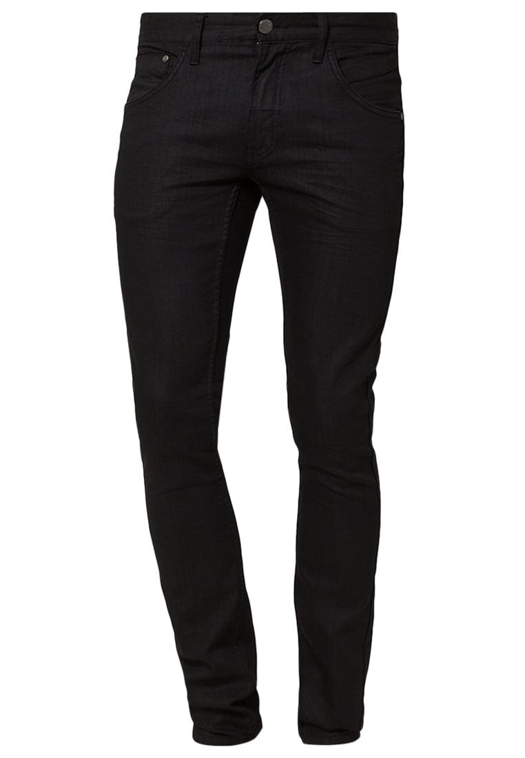 Lindbergh BLK WHITE Jeansy Slim fit black - 30-00011BLK White