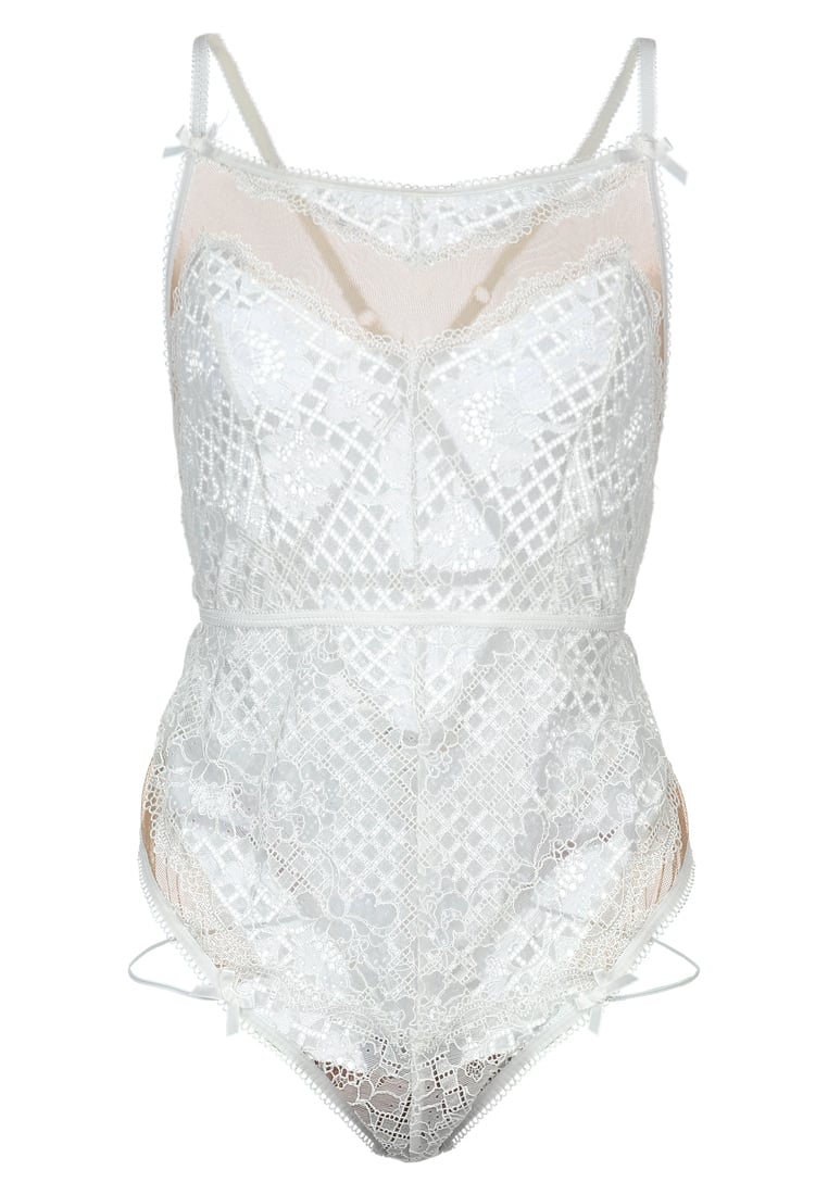 For Love & Lemons DAFFODIL Body white - SKBOD1073L-SP17