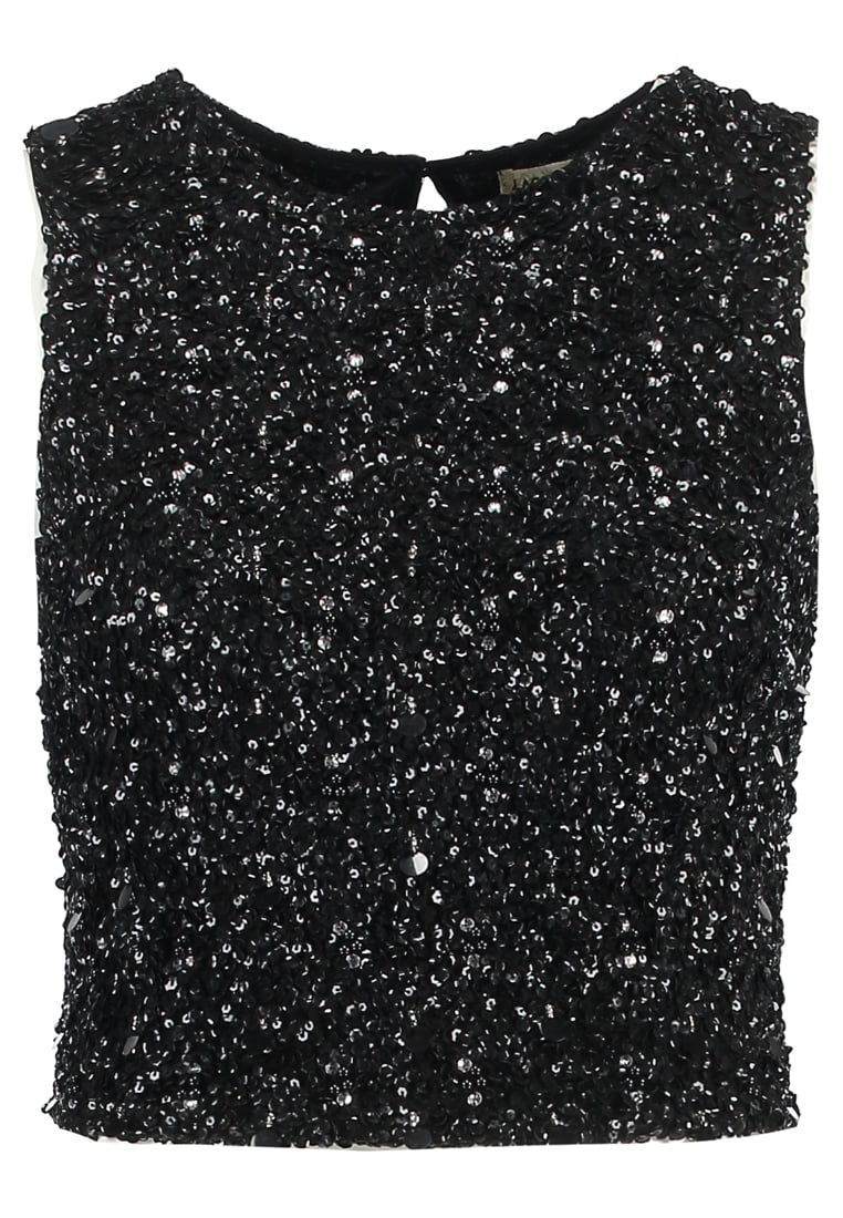 Lace & Beads Petite PICASSO Top black irridescent - Picasso