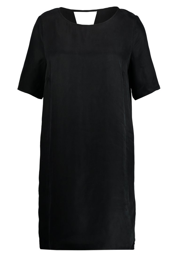 Vila VIRAF 2/4 SLEEVE DRESS Sukienka letnia black
