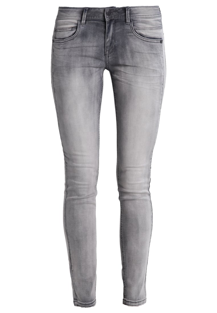Q/S designed by Jeans Skinny Fit grey denim - 45899710424