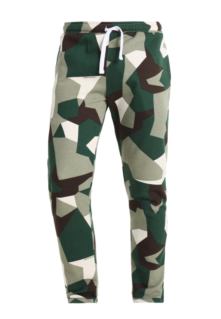 New Black LUMPEN Spodnie treningowe green - Lumpen Sweatpants