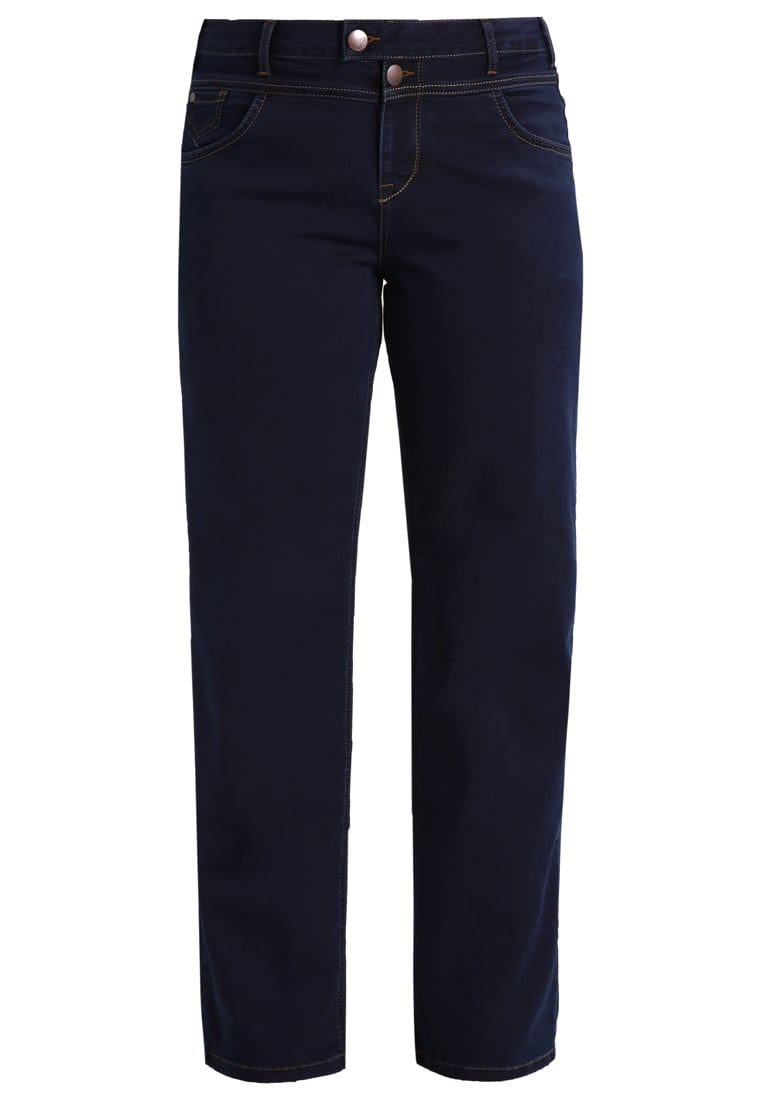 Zizzi GEMMA Jeansy Straight leg blue denim - J93400A