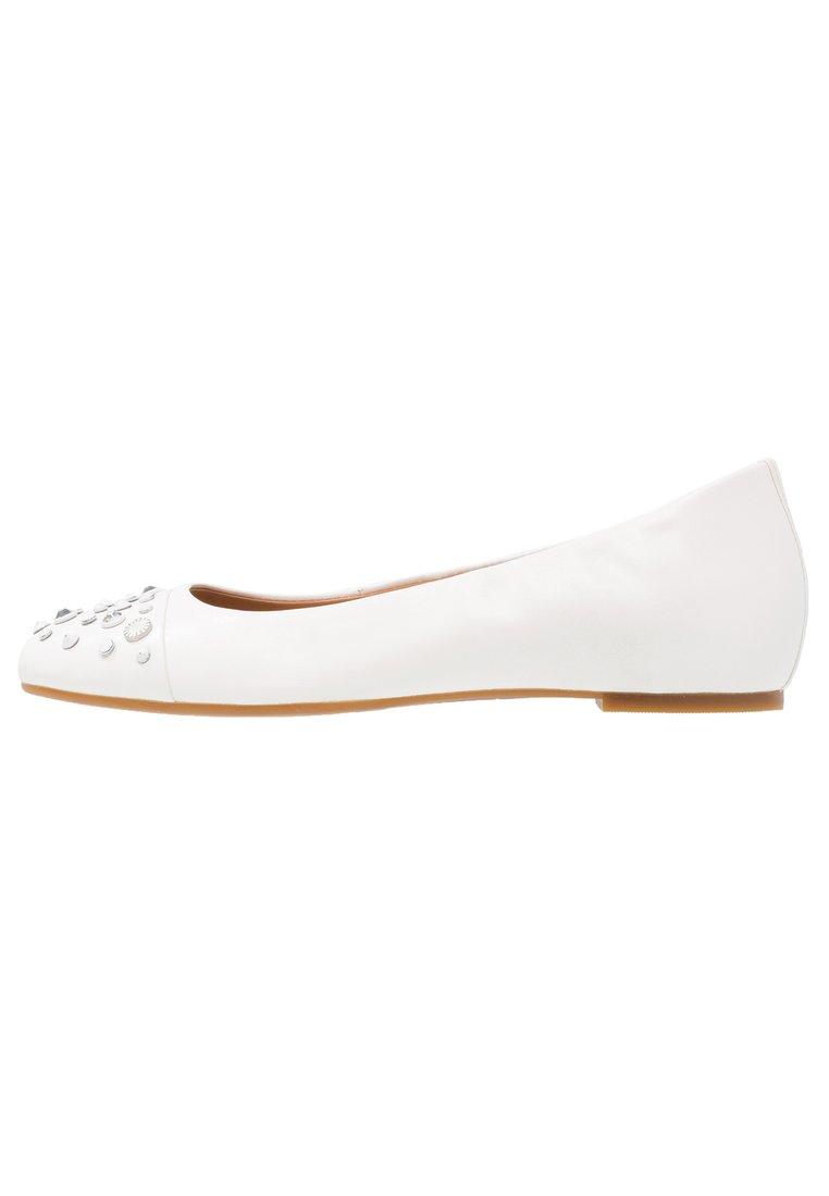 UGG BLISS STUDDED BLING Baleriny white