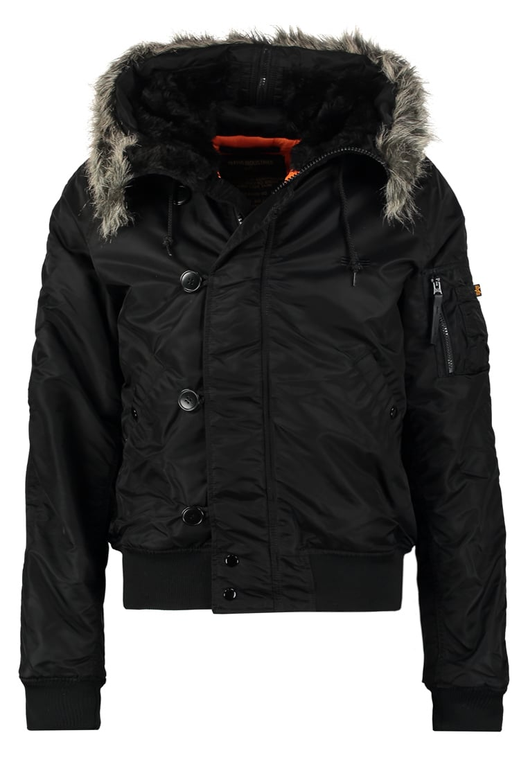 Alpha Industries Kurtka zimowa black - 158142