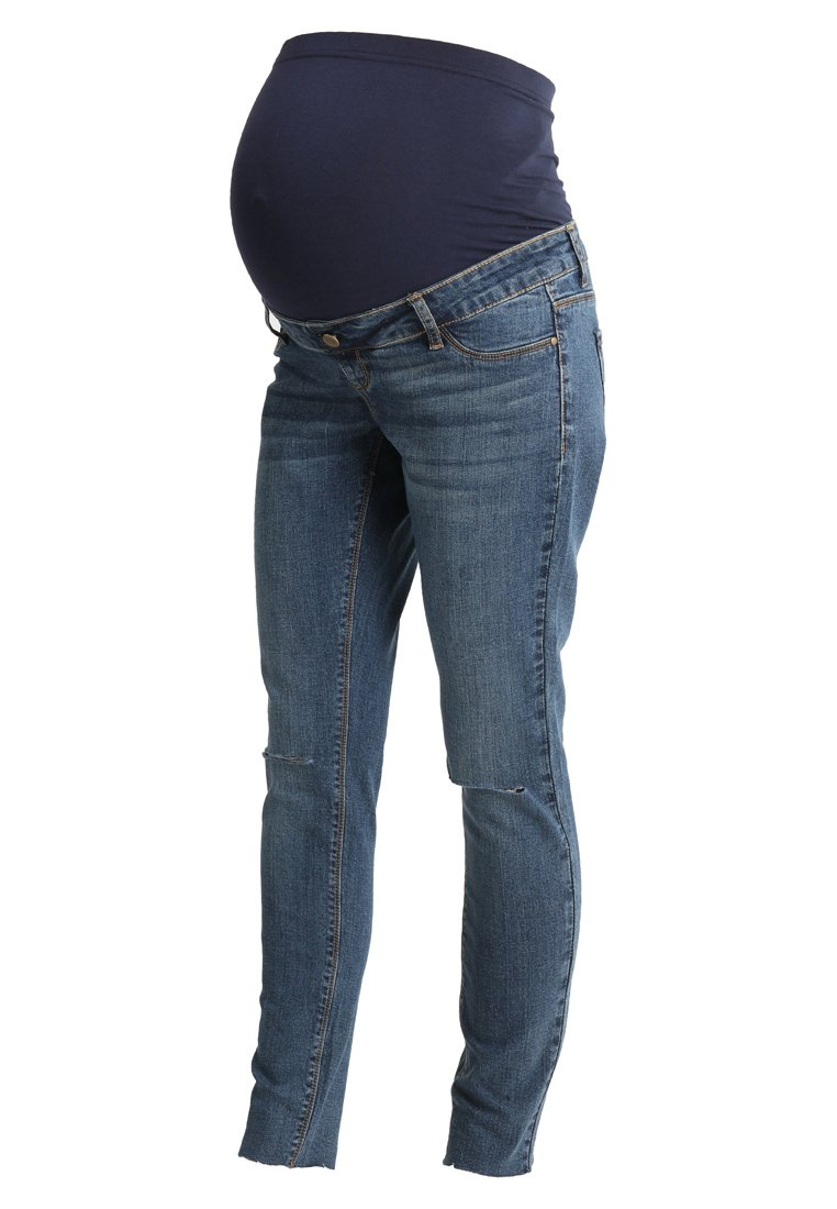 DP Maternity Jeansy Slim Fit midwash - 17363849
