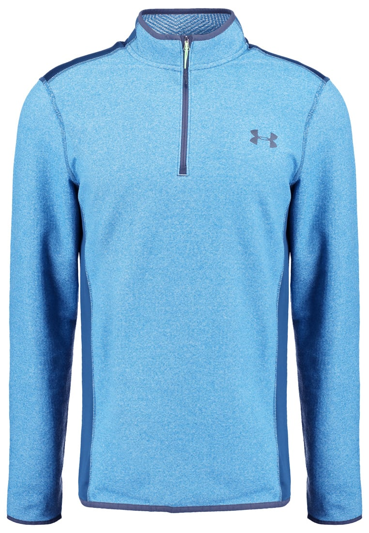 Under Armour PERFORMANCE Bluza z polaru peacock/nova teal - 1259826