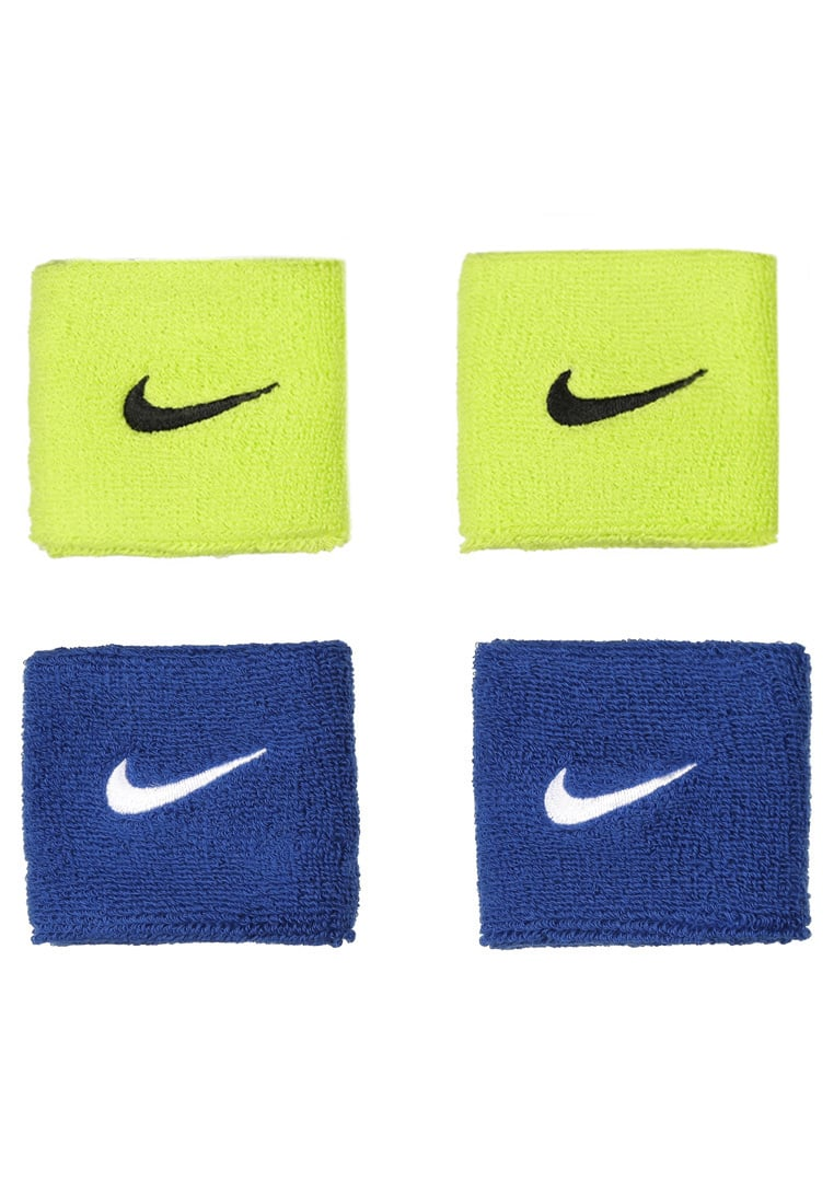 Nike Performance 4 PACK Opaska z froty royal blue/white atomic green/black - 9380/48
