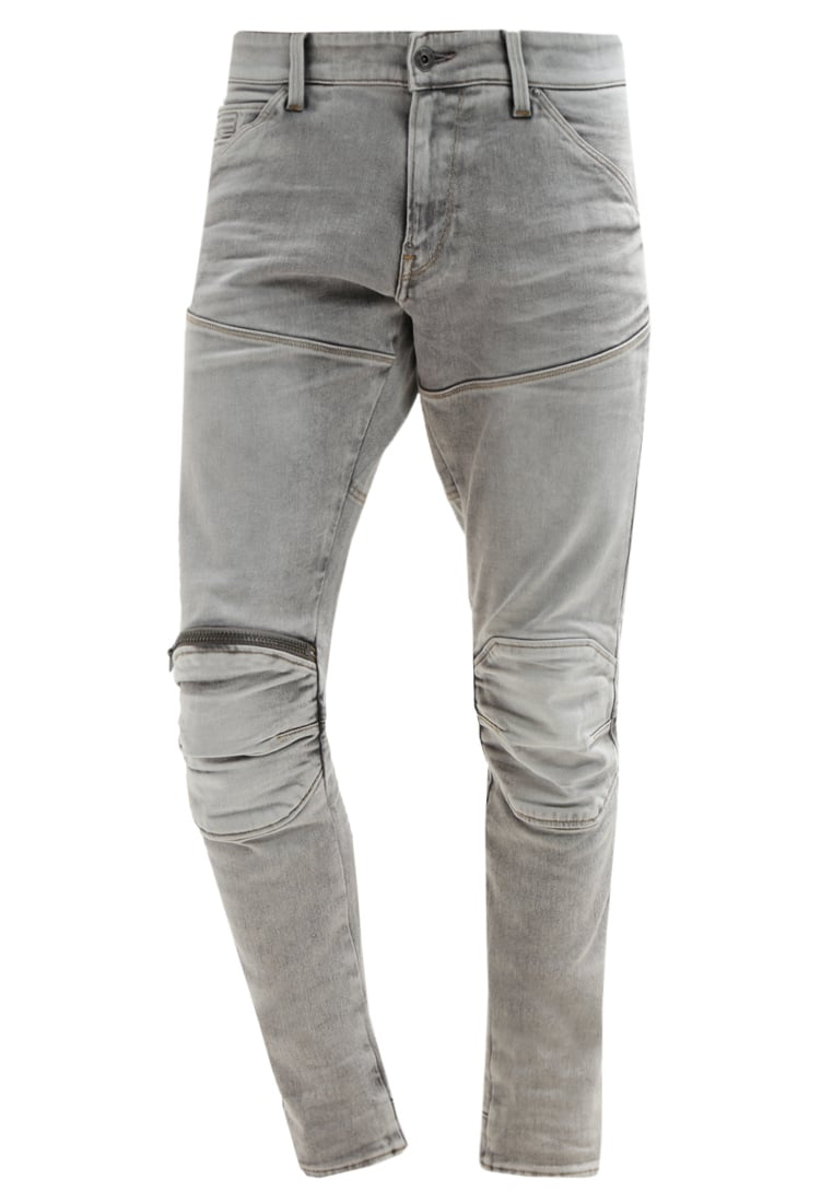 GStar 5620 SUPER SLIM Jeans Skinny Fit kamden grey stretch denim - D01252