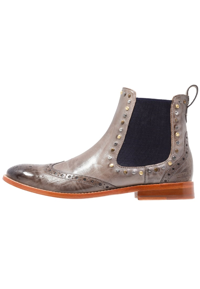 Melvin & Hamilton AMELIE 5 Ankle boot morning grey/navy - Amelie 5