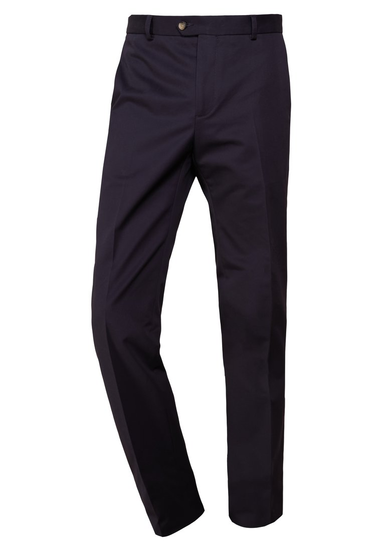 Editions MR CHINO TAILORED TROUSERS Chinosy plain navy - 0720-T604
