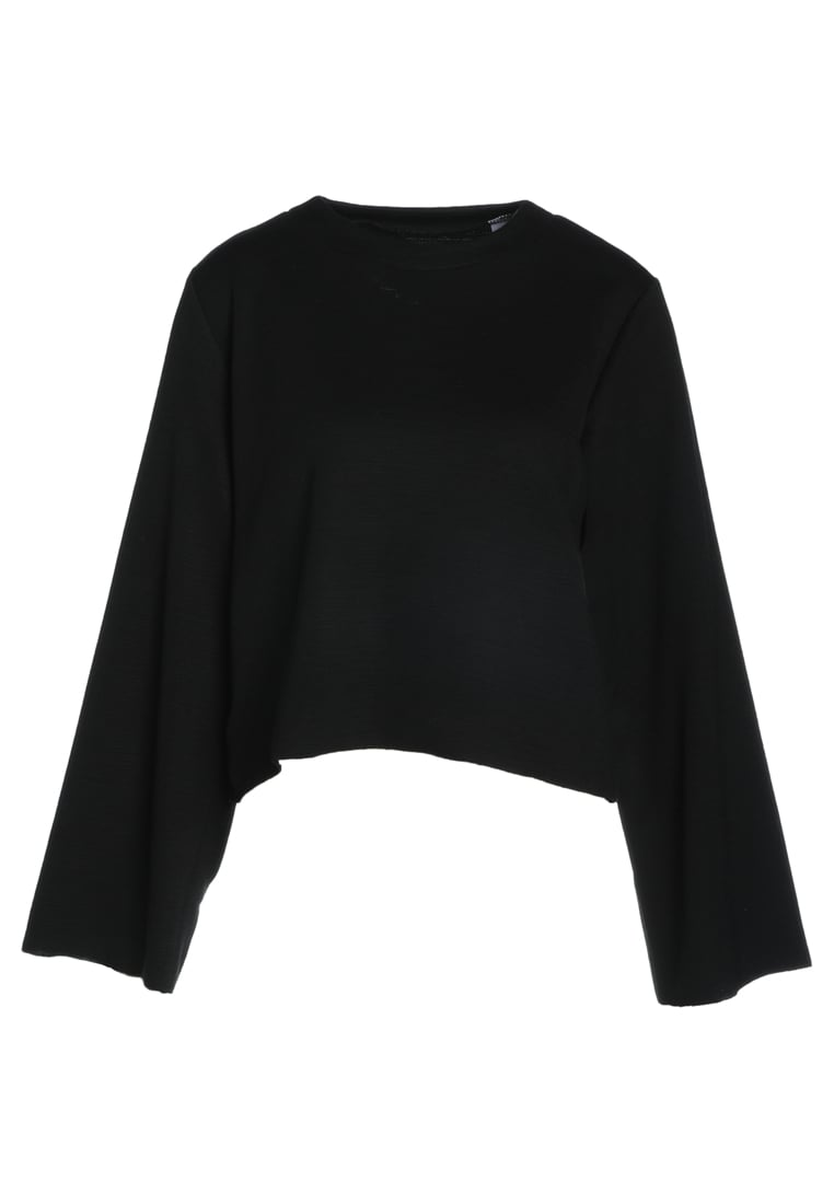 House of Sunny POCKET POINT Sweter supa black - CLASSIC/02
