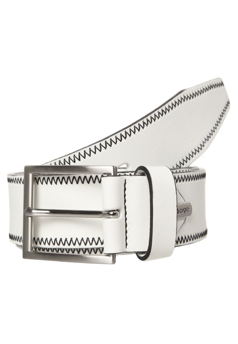 Lloyd Men's Belts Pasek white - 1477