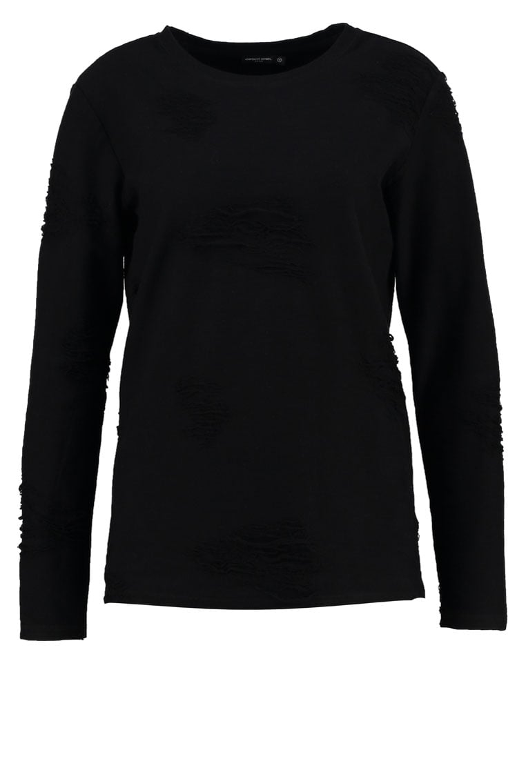 Earnest Sewn Sweter black - 2Z359007