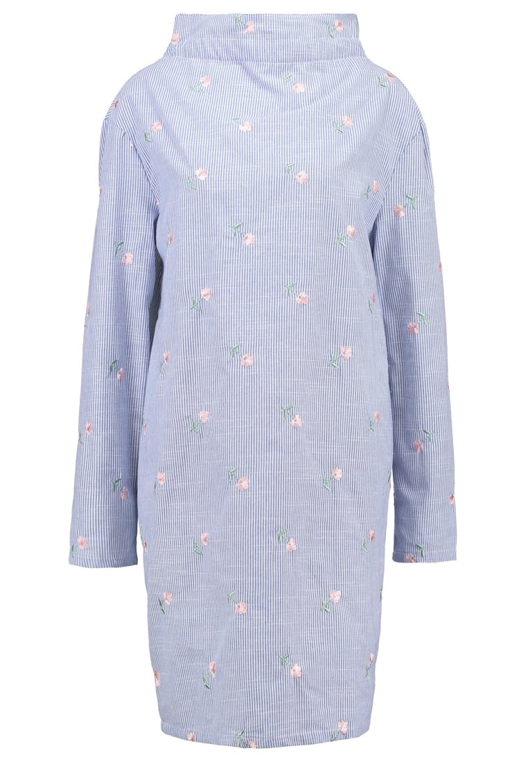 Fashion Union Tall COSMIC Sukienka letnia blue/white - COSMIC