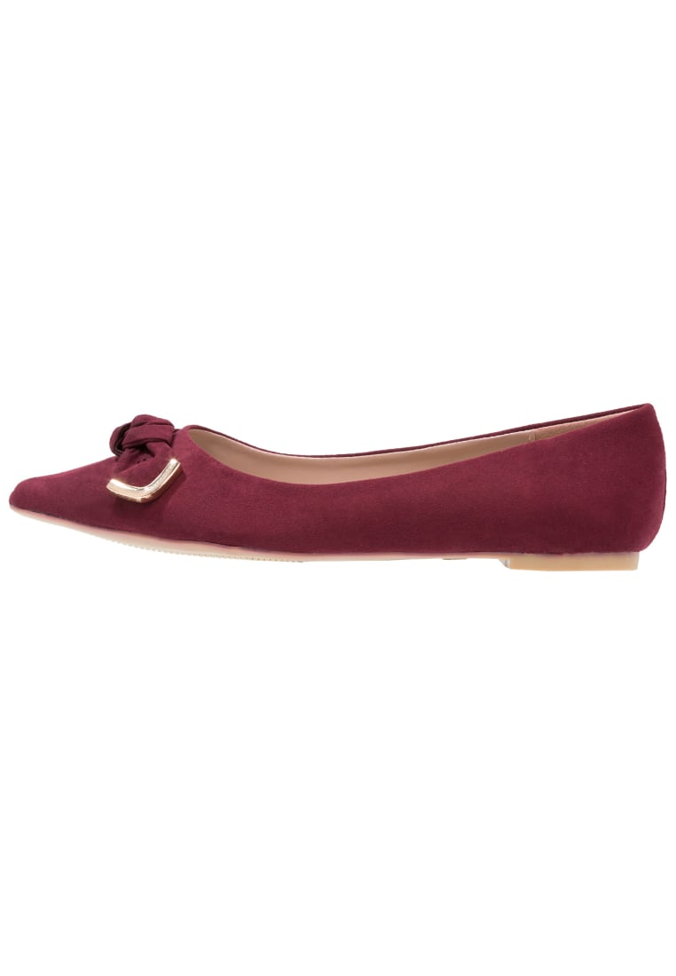 Dorothy Perkins Wide Fit HARRIE Baleriny red - 35267816