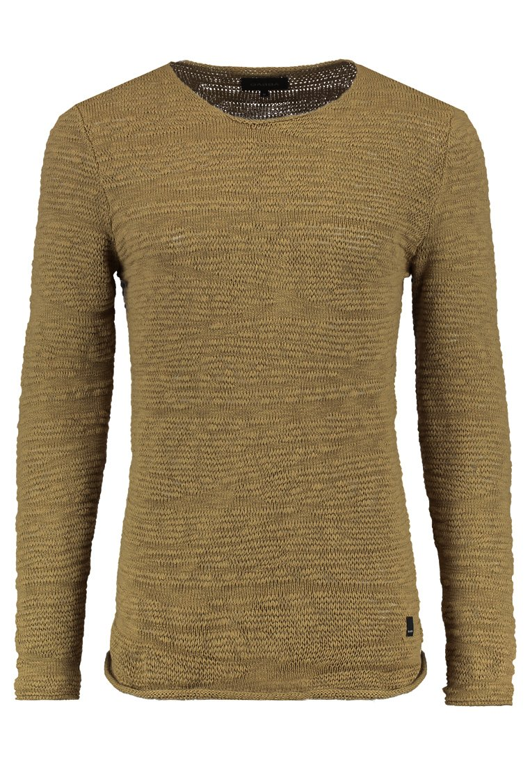 Gabba LUTHER ONECK KNIT Sweter biscotto - 2170130109