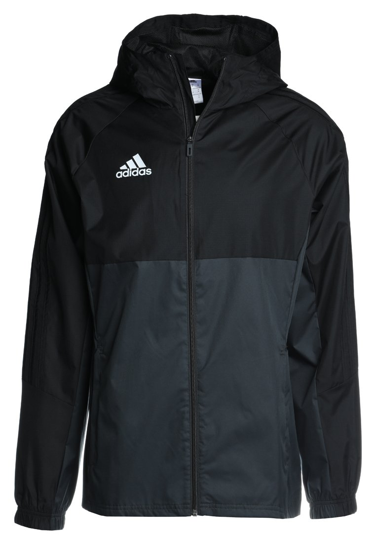 adidas Performance TIRO Kurtka hardshell black/dark grey - BRR97