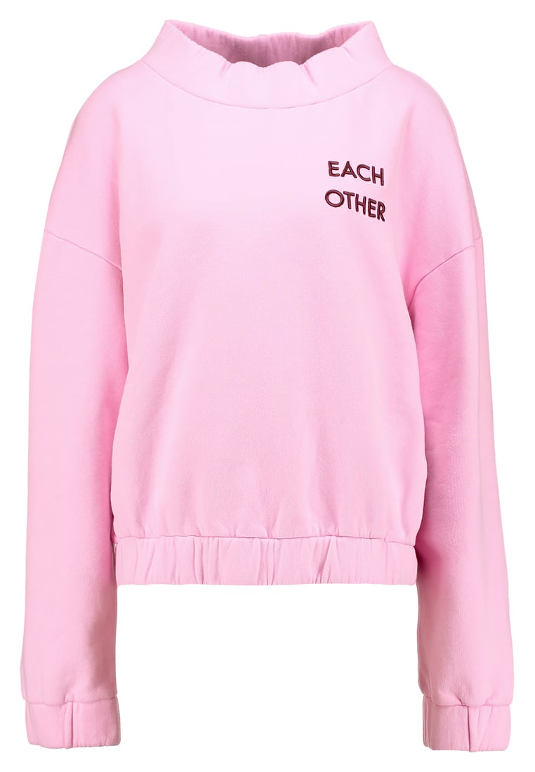 Each x Other EMBROIDERED Bluza pink - FW17G13090