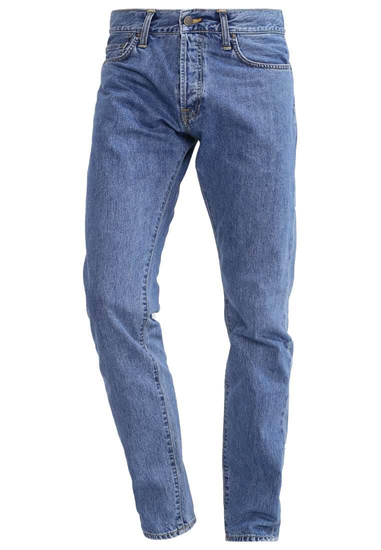 Carhartt WIP KLONDIKE HANFORD Jeansy Relaxed fit blue stone washed - I019858