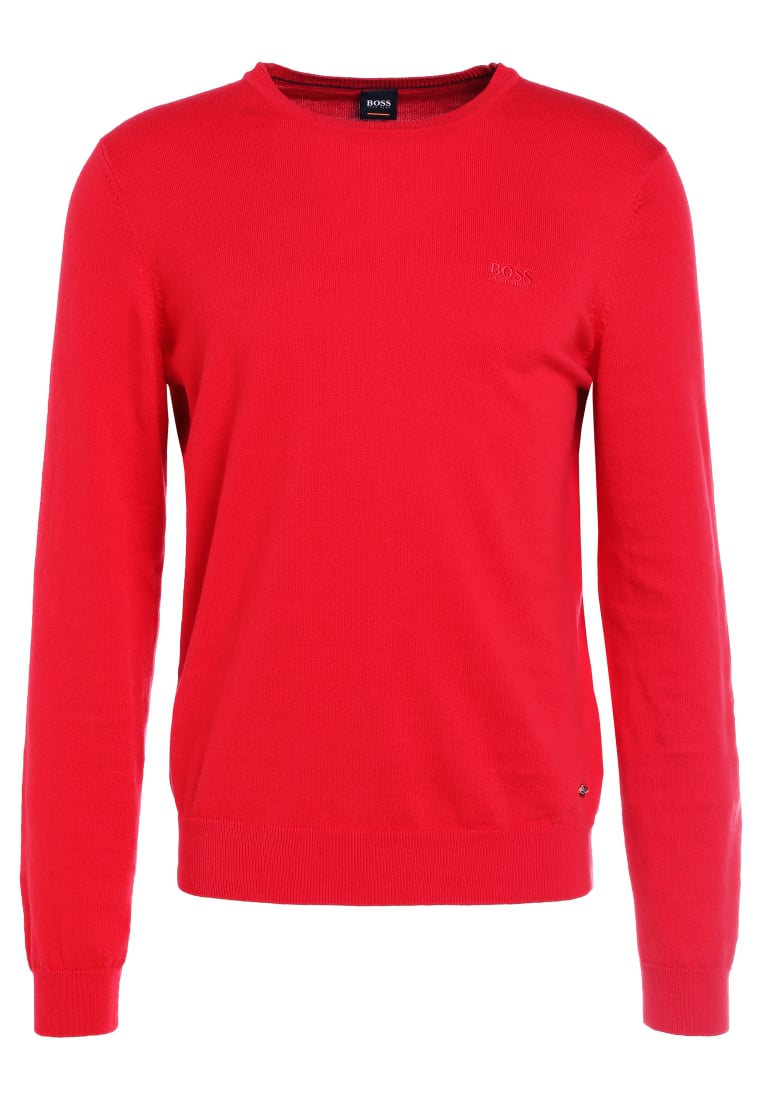 BOSS Orange AKHUB Sweter red - 50386763