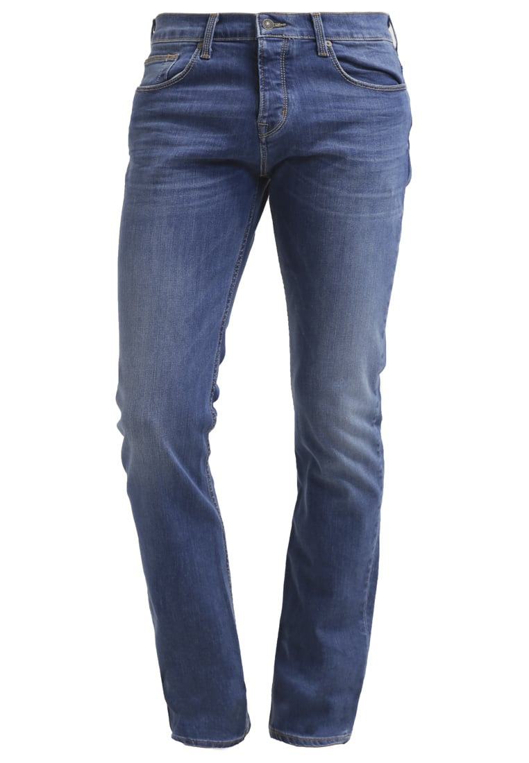 7 for all mankind CHAD Jeansy Straight leg lightblue denim - SD3R400MR